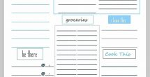 Printable To Do Lists To Get Organized