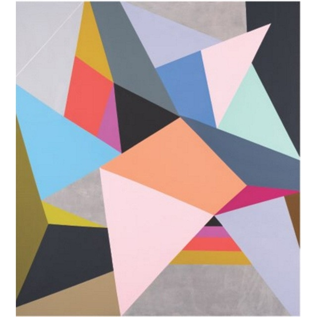 Hand Painted Modern Abstract Geometric Shapes Canvas Oil Paintings with regard to Geometric Shapes Art 23948