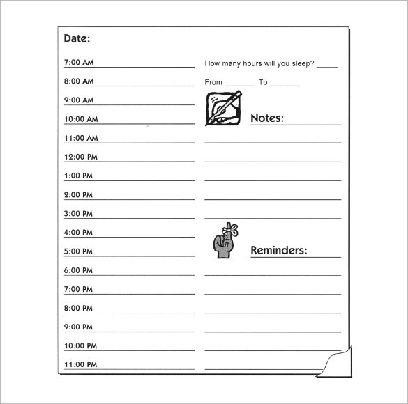Hourly Schedule Template - 32+ Free Word, Excel, Pdf Format | Free inside Hourly To Do List Template 22704