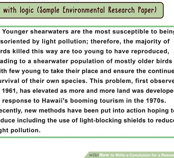 example conclusion paragraph for a research paper