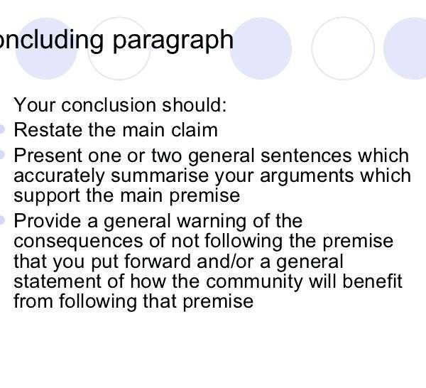 the example of argumentative essay