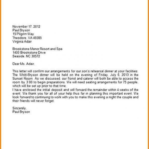 Ideas Collection Business Letter Format Using Company Letterhead For