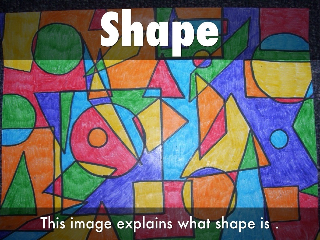 Images For > Element Of Art Shape Example | **e & P | Pinterest with regard to Shape In Art Examples 23776