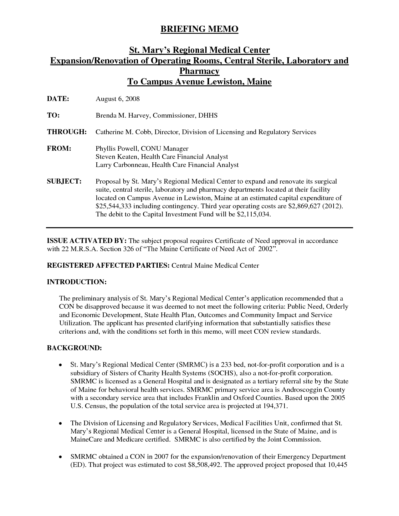Informational Memo Examples | World Of Example in Informational Memo Examples 23156
