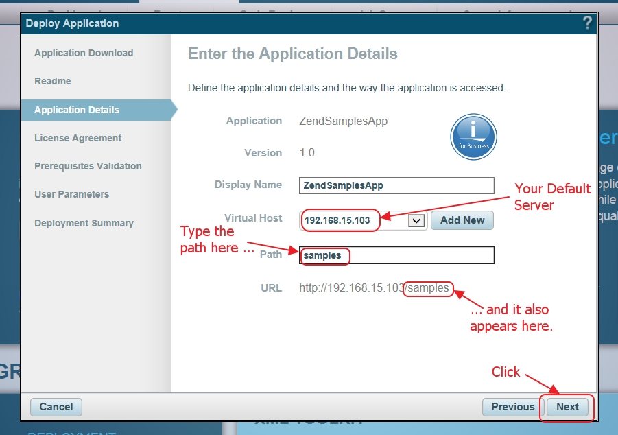 Install The Samples Application In Zend Server For Ibm I – Zend intended for Sample Image Url 19876