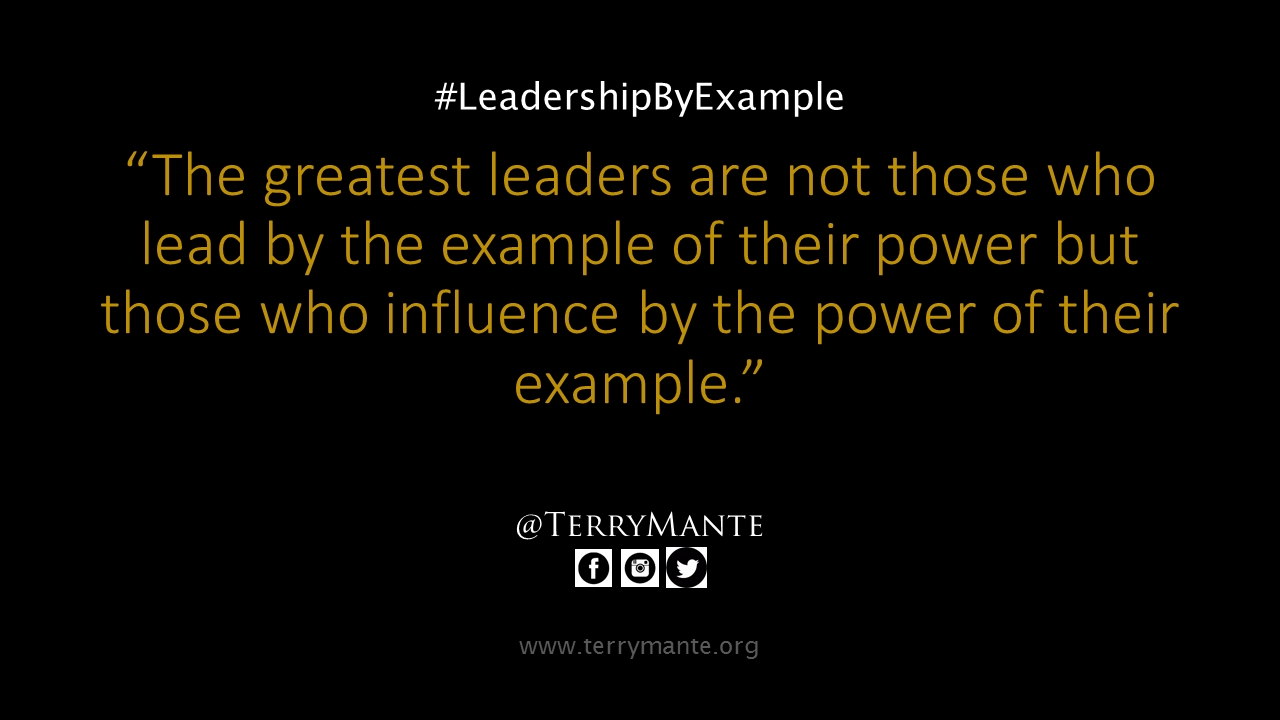 Leadership By Example inside Leadership By Example 19674
