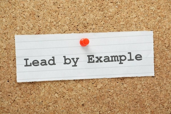 Leadership Skills Are Taught Through Example – Not Just Words inside Lead By Example 19614