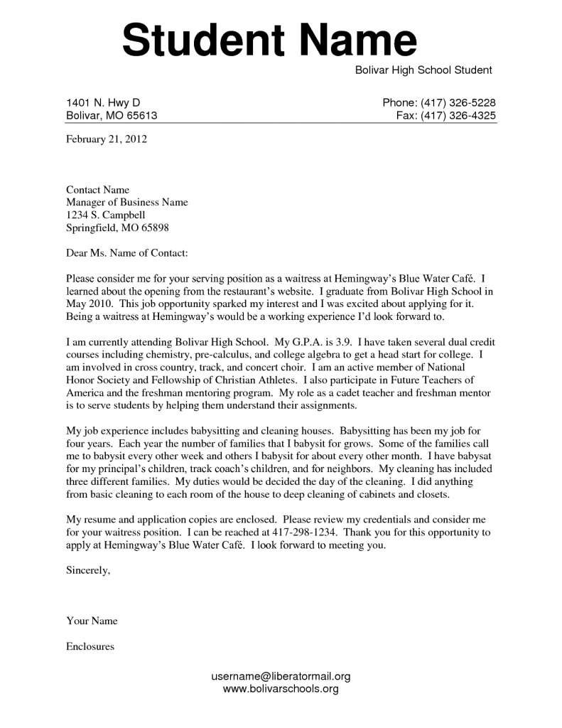 Formal letter format for school students examples and forms letter examples for students high school student application with regard to formal letter format for school spiritdancerdesigns Images