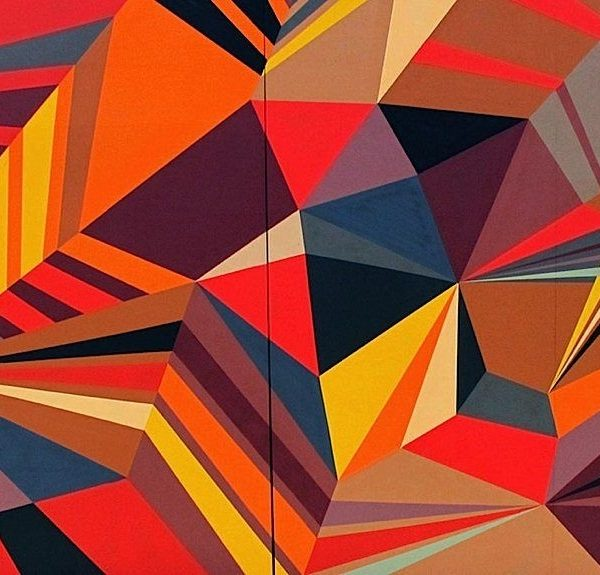Matt W. Moore, An Amazing Graffiti Artist Who Can Blend Shapes intended for Shape In Famous Artwork