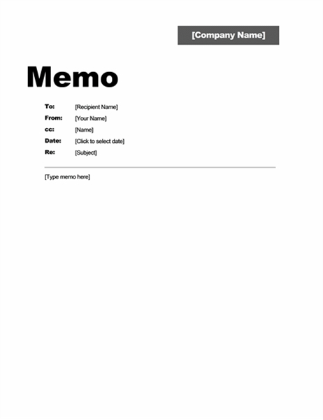 Memos - Office within Memo Format Example In Word 23085