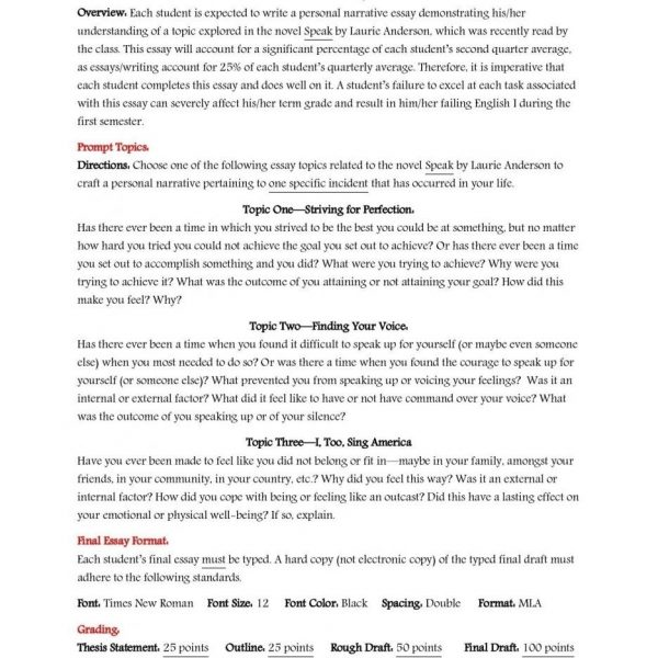 Narrative Essay Example High School Pics Download Personal Of A  Narrative Essay Example High School Pics Download Personal Of A Intended  For Personal Narrative Examples High School Apa Sample Essay Paper also College English Essay Topics  Persuasive Essay Topics For High School Students