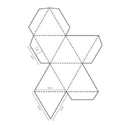 Octahedron Design | Octahedron Templates To Print 3D Geometric inside 3D Geometric Shapes Templates 19493