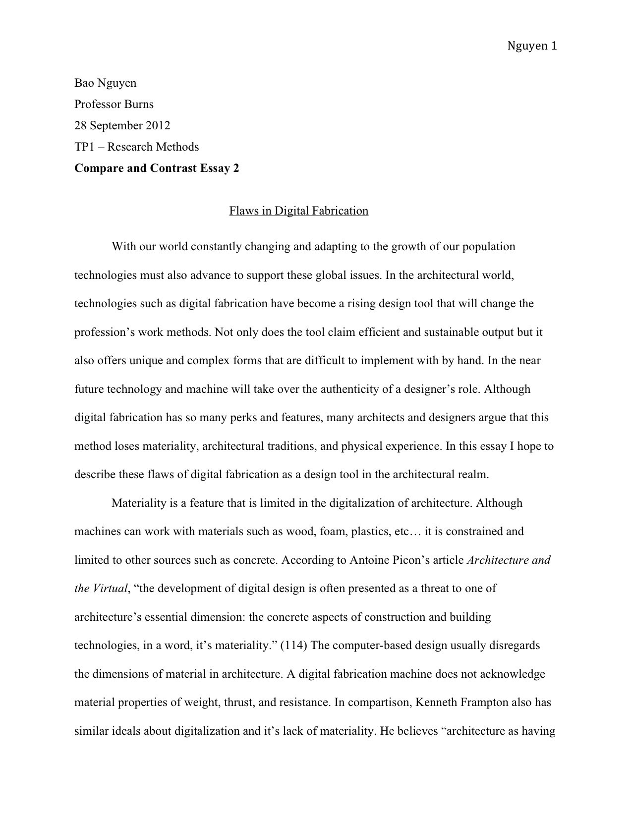 Reflection Paper Example Essays  Sample Narrative Essay High School also Essays In English Essay Expository Thesis Statement Corpus Beat With Essay  Sample Essay Paper
