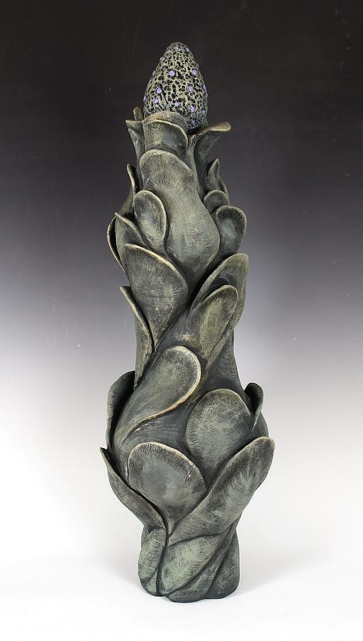 Organic Form Ceramic Art By Patty Sheppard within Organic Form Art 24008