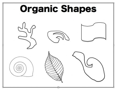 Organic Shape Examples | Examples And Forms within Organic Shape Art Definition 24079