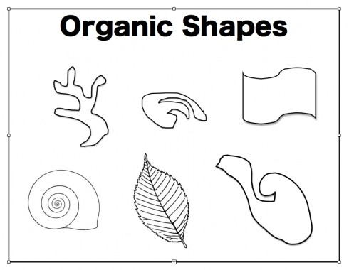 Organic Shapes, Most Of The Time They Look Pretty Natural So For with Organic Shape Examples 23877