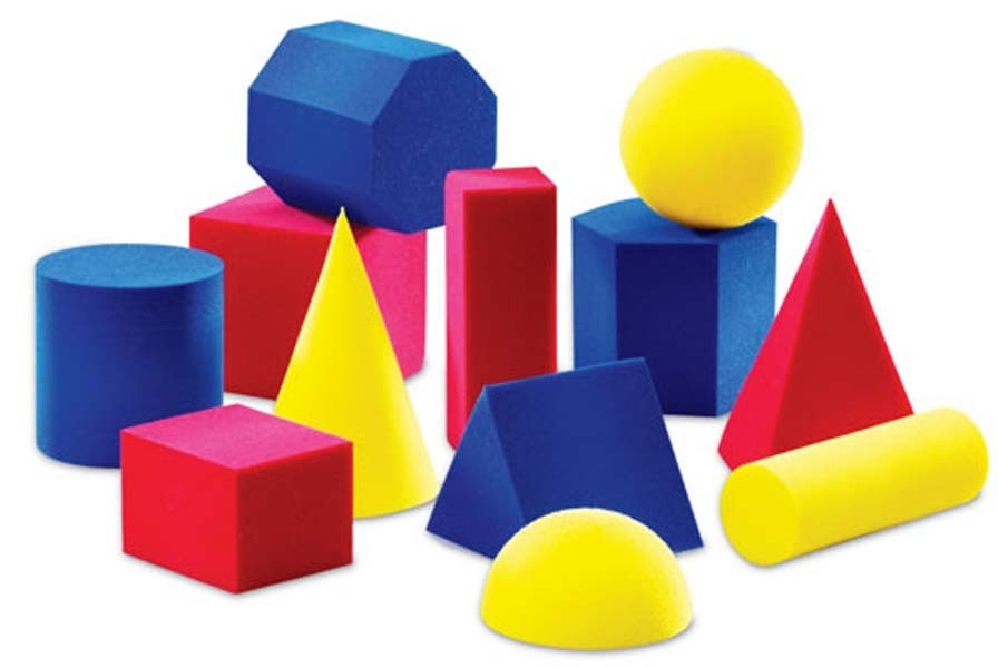 Other Clipart 3D Shapes - Pencil And In Color Other Clipart 3D Shapes throughout 3D Shapes Clip Art 19543