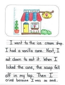 Personal Narrative Mentor Texts In First Grade: Farm, Ice Cream throughout Personal Narrative Examples 1St Grade 21361