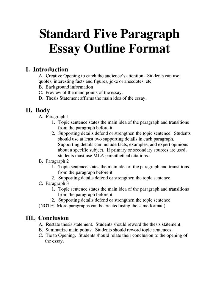 Persuasive Essay Outline – Gravy Anecdote with regard to Argumentative Essay Format 8Th Grade 21011