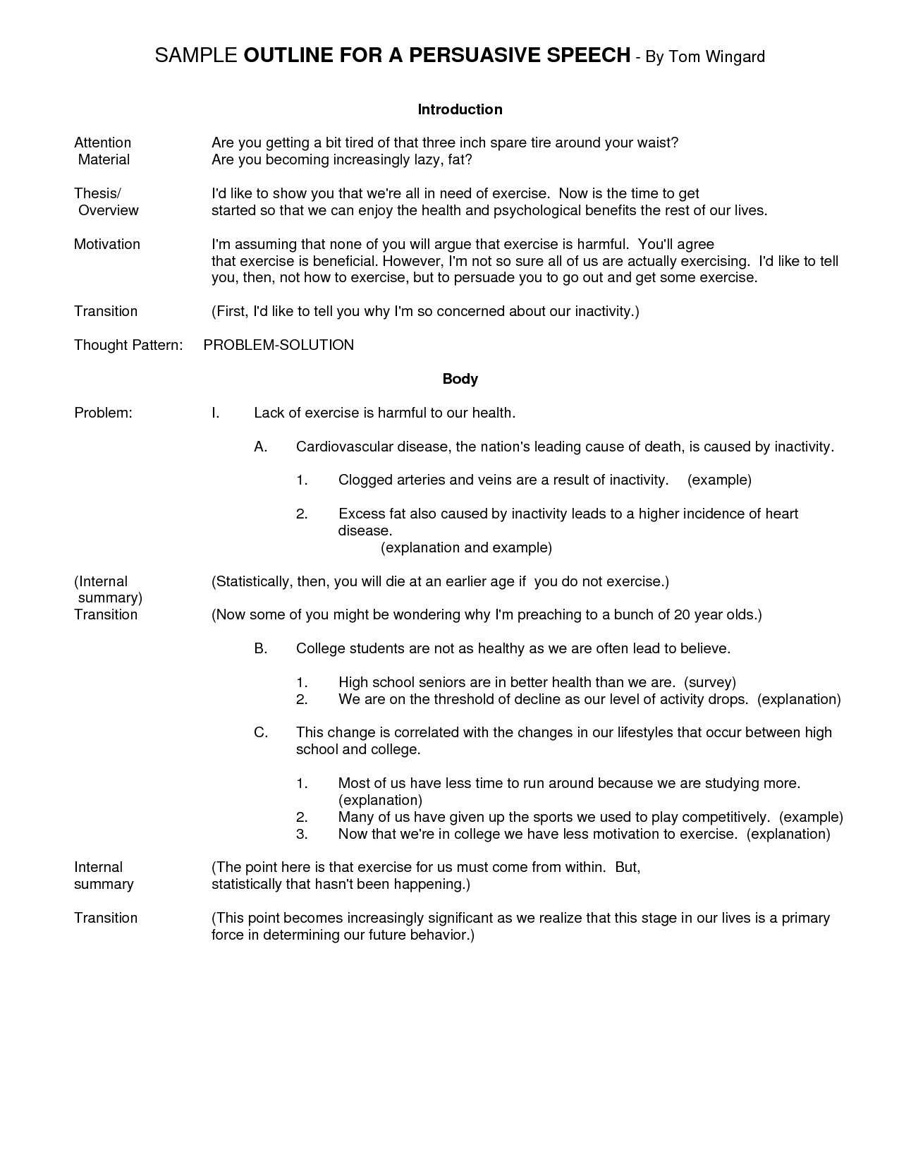 Persuasive Speech Outline Template – Free Templates for Persuasive Essay Outline Example 21241