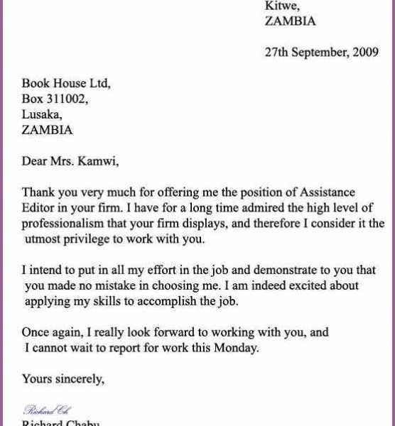 Formal Letter Format Examples Kasare Annafora Co