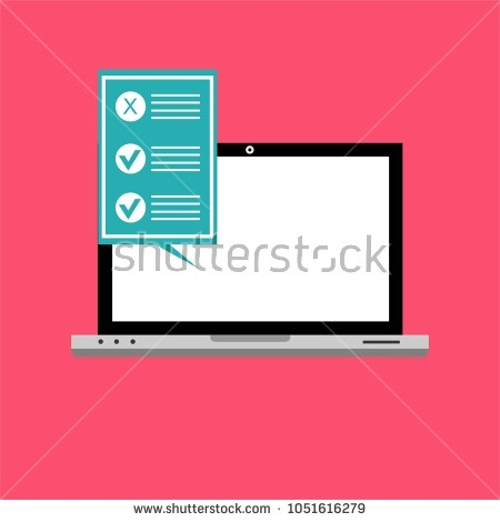 Quiz Icon Stock Images, Royalty-Free Images & Vectors | Shutterstock throughout Electronic Form Icon 23706
