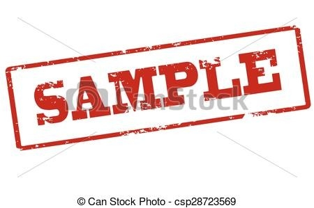 Rubber Stamp With Word Sample Inside, Vector Illustration Clip Art within Sample Stamp Clipart 19784