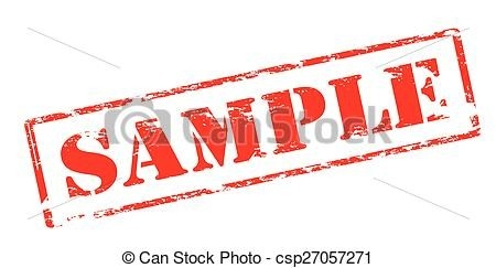 Rubber Stamp With Word Sample Inside, Vector Illustration Vectors throughout Sample Stamp Clipart 19784