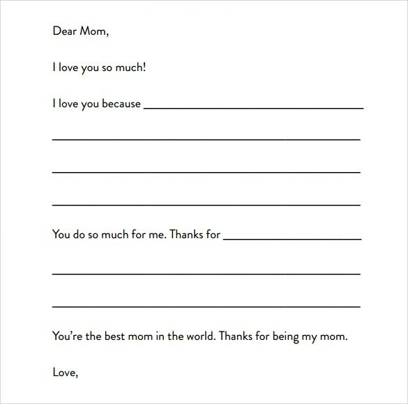 Sample Letter Format For Kids - 7+ Free Samples , Examples , Format pertaining to Formal Letter Format For Kids 20921