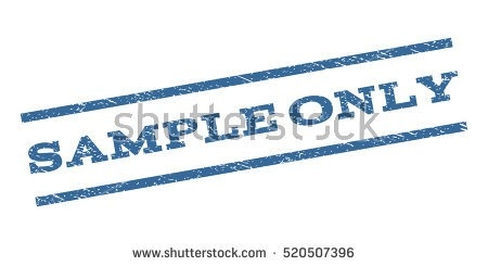 Sample Only Watermark Stamp Text Caption Stock Vector 520507396 with Sample Watermark Vector 19804