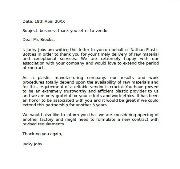 Sample Personal Business Letter Format - 6+ Documents In Pdf, Word regarding Personal Business Letter Format 20178