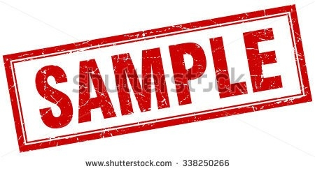 Sample Red Square Grunge Stamp On Stock Vector 338250266 for Sample Stamp Png 19754