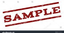 Sample Watermark Vector