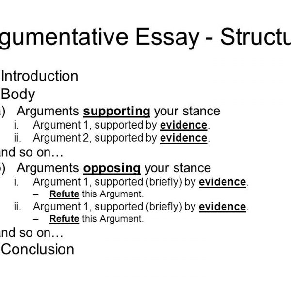 Essay On Photosynthesis Structure Of A Argumentative Essay  Fieldstationco Throughout  Argumentative Essay Introduction Format Thesis In A Essay also How To Start A Proposal Essay Structure Of A Argumentative Essay  Fieldstationco Throughout  Sample Narrative Essay High School
