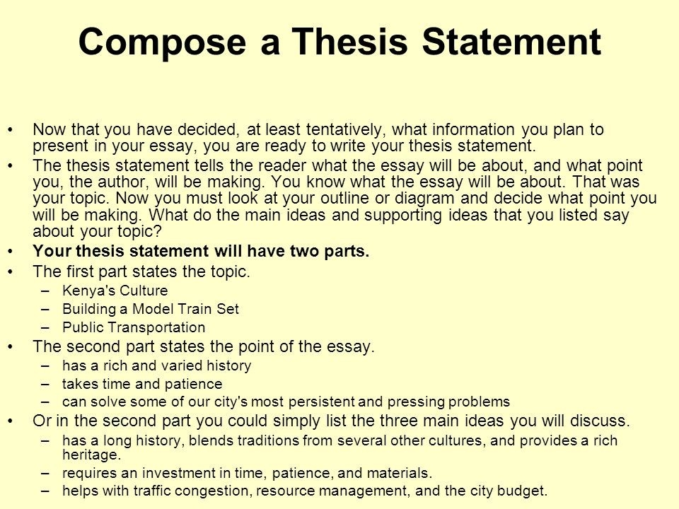 Computer Science Essay  Writing High School Essays also Essay Papers Argumentative Essay Thesis Statement Examples  Examples And  How Do I Write A Thesis Statement For An Essay