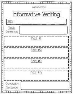 This Product Has Been Updated (6/12/14) To Include Seven Writing pertaining to Informative Graphic Organizer 5Th Grade 22474