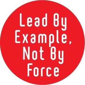 Three Techniques To Effectively Lead By Example | Brandon W. Jones with regard to Lead By Example Images 19764