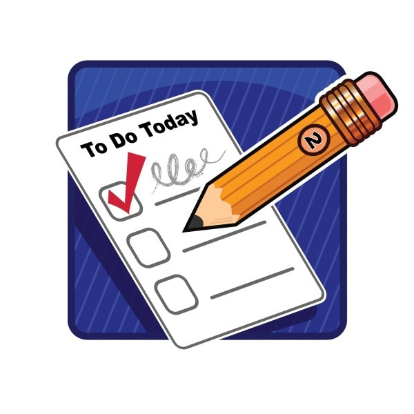 To Do List Clipart #2405 Inside Things To Do List Clipart - World inside Things To Do List Clipart 22234