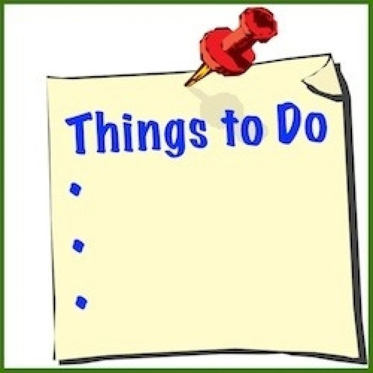 To Do List Clipart Intended For Things To Do List Clipart - World within Things To Do List Clipart 22234