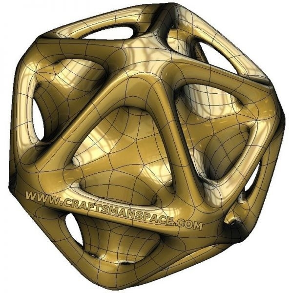 Topological Mesh Modeling Examples Converted To Nurbs Surfaces regarding 3D Organic Shapes 19523