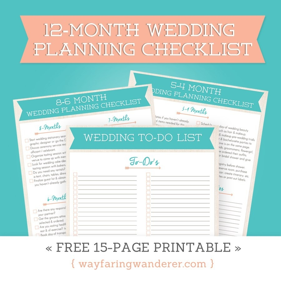 Wayfaring Wanderer Boone Nc Photographer Wedding Planning throughout Blank Wedding Planning Checklist 19291