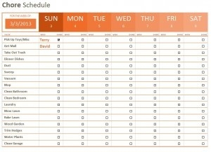 Weekly Checklist Template - Fieldstation.co throughout Weekly Checklist Template 22054