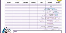 Weekly To Do List Template Word