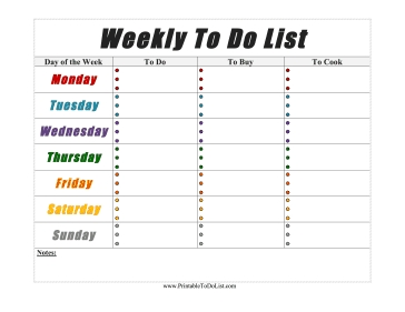 Weekly_To_Do_List intended for Weekly To Do List Download 21581