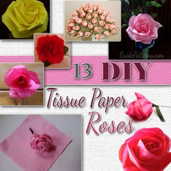 13 diy tissue paper roses guide patterns inside how to make paper 13 diy tissue paper roses guide patterns inside how to make paper roses with construction paper step by step mightylinksfo