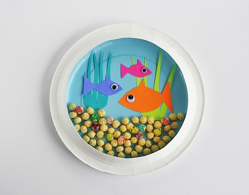 16 Easy And Fun Diy Paper Plate Crafts - Shelterness Intended For for Art And Crafts Ideas For Kids Using Paper Plates 29260