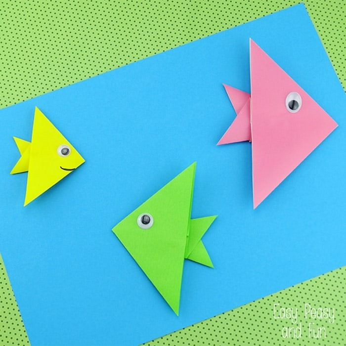 20+ Cute And Easy Origami For Kids - Easy Peasy And Fun inside Simple Paper Folding Art For Kids 28990