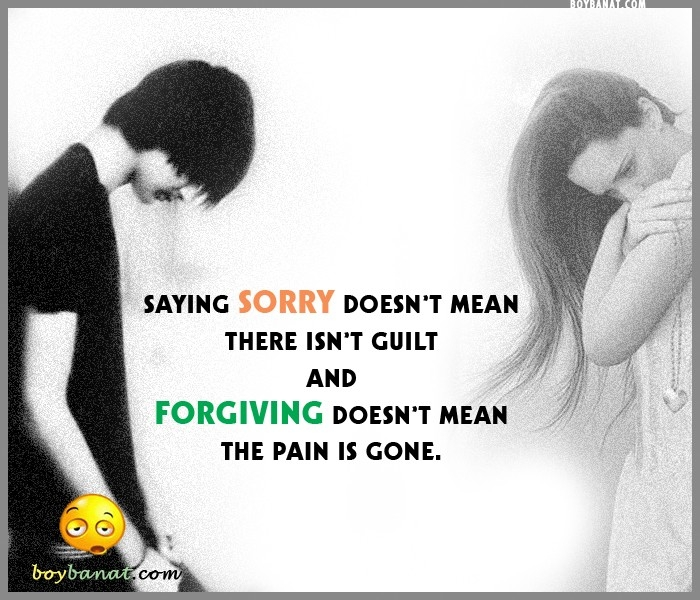 20 I'm Sorry Quotes & Sayings - Apology Messages From The Heart inside I Am Sorry Quotes For Hurting You In Hindi 28481