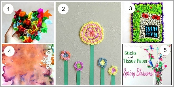 20+ Tissue Paper Crafts For Kids - Buggy And Buddy throughout Tissue Paper Art For Kids 27480
