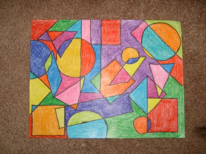 2009February02-028 717×538 Pixels | Art Ed | Pinterest for Geometric Shape Art Projects 24838